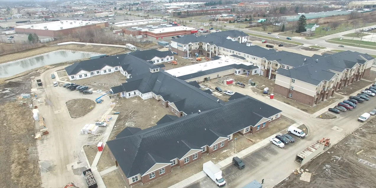 Owner: CSIG Development Company, LLC Market Sector: Senior Housing Construction Type: New Construction Location: Chesterfield, MI Size: 187,017 SF In Construction