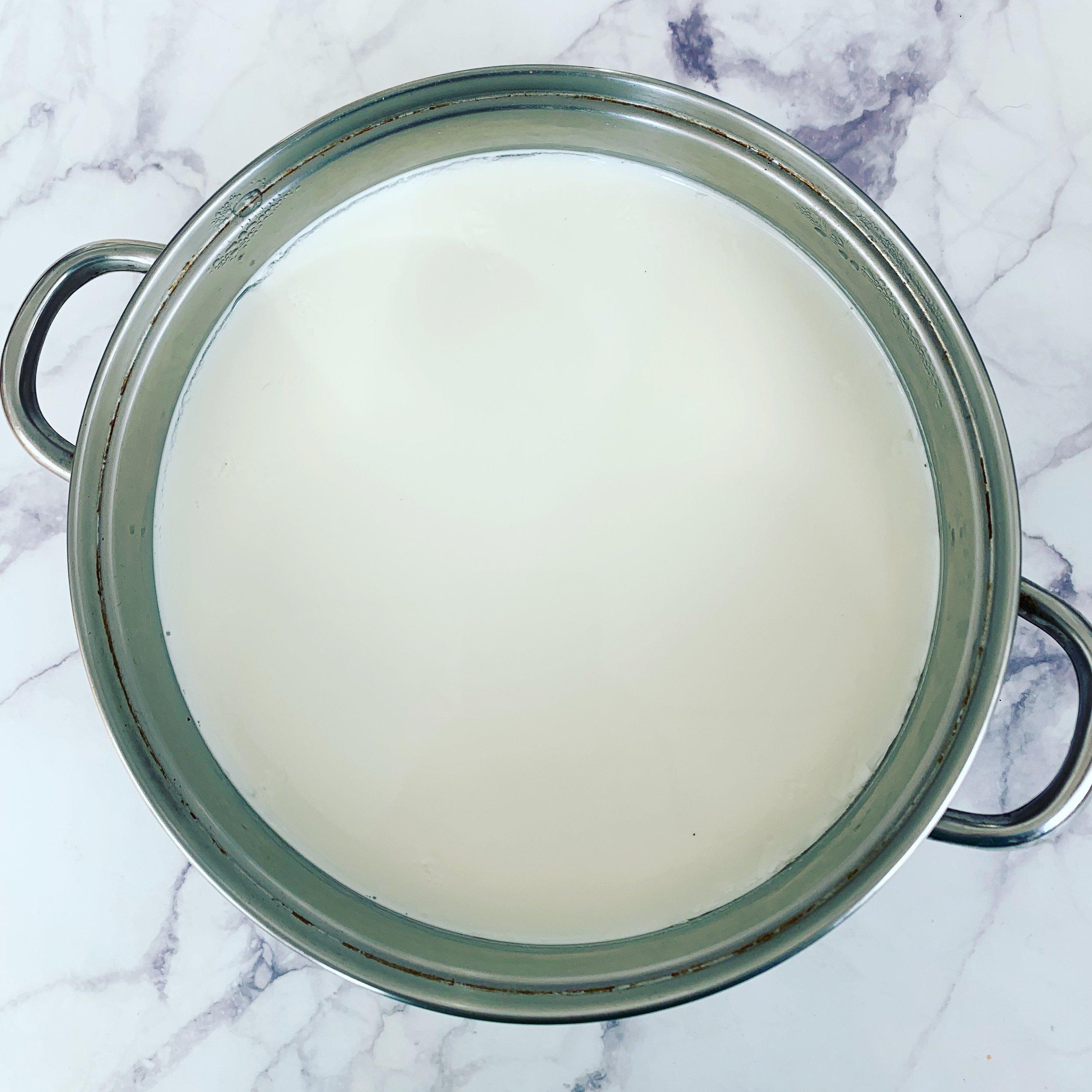 How to Make Yogurt: Yogurt in Pot
