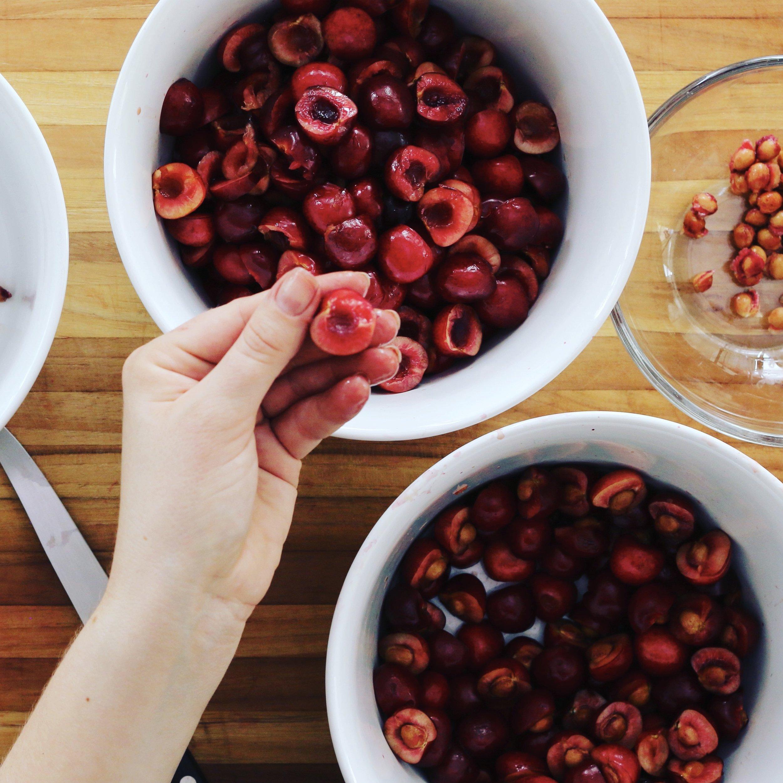 Processing Cherries