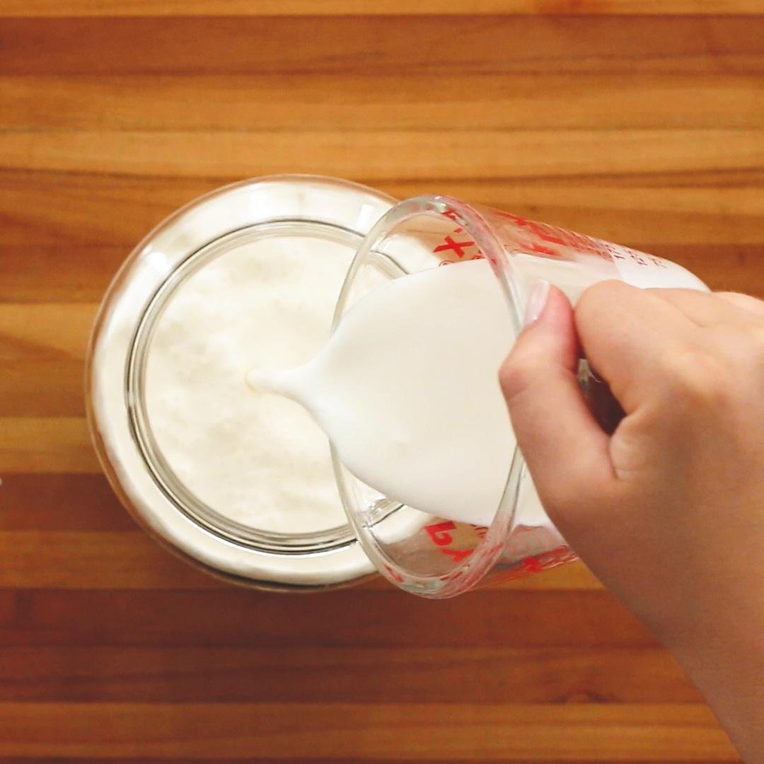 Cultured Butter - Adding Kefir