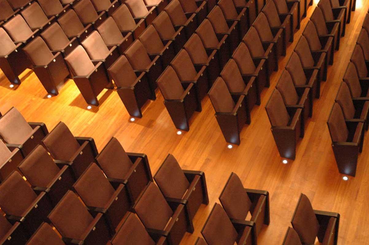 1st PRIZE | 1er PREMIO   Renovación del Teatro Riera, Villaviciosa | Asturias  Completed | Completado