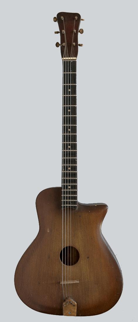 Bowable Six String Guitar