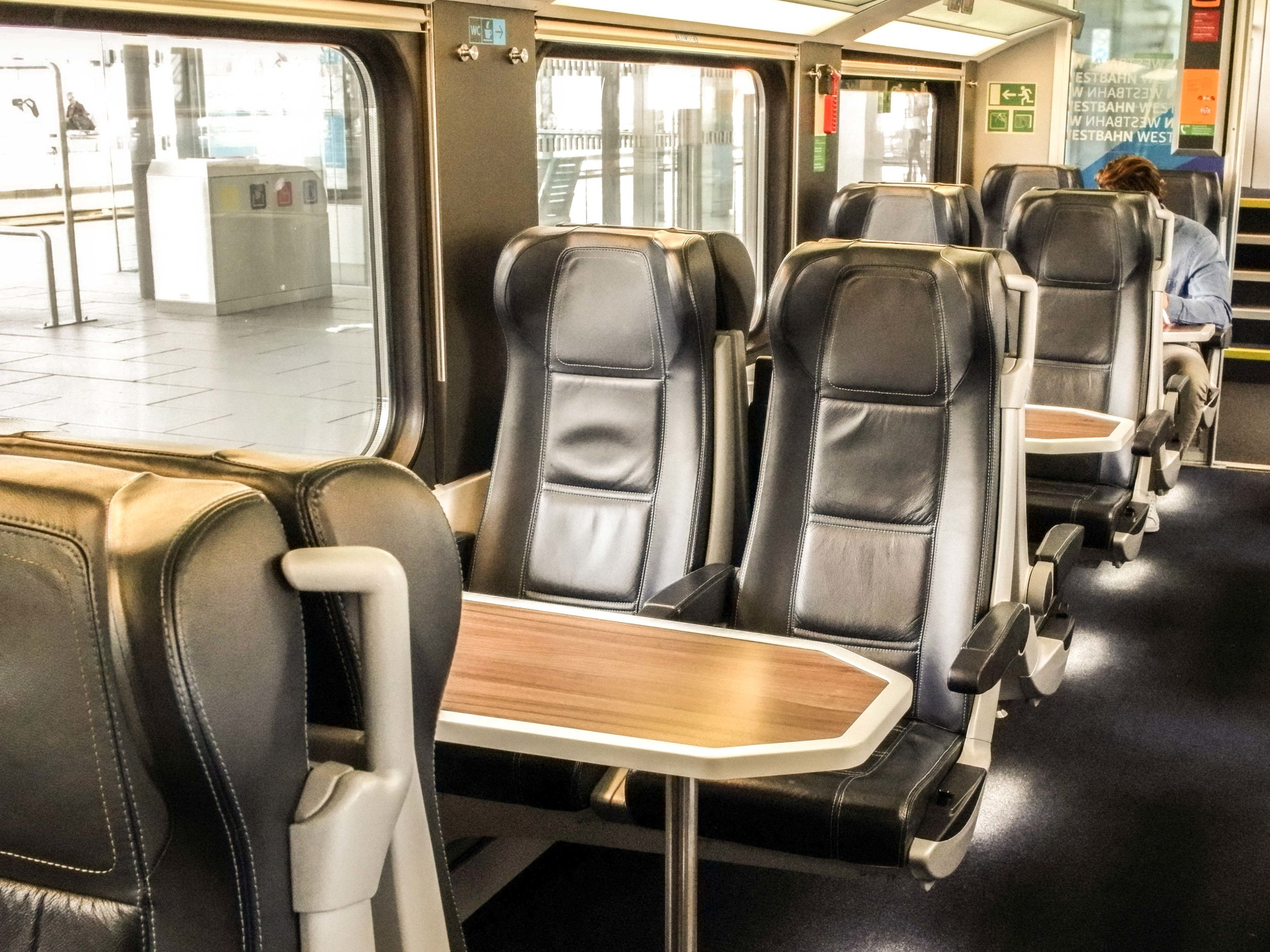 Westbahn economy class