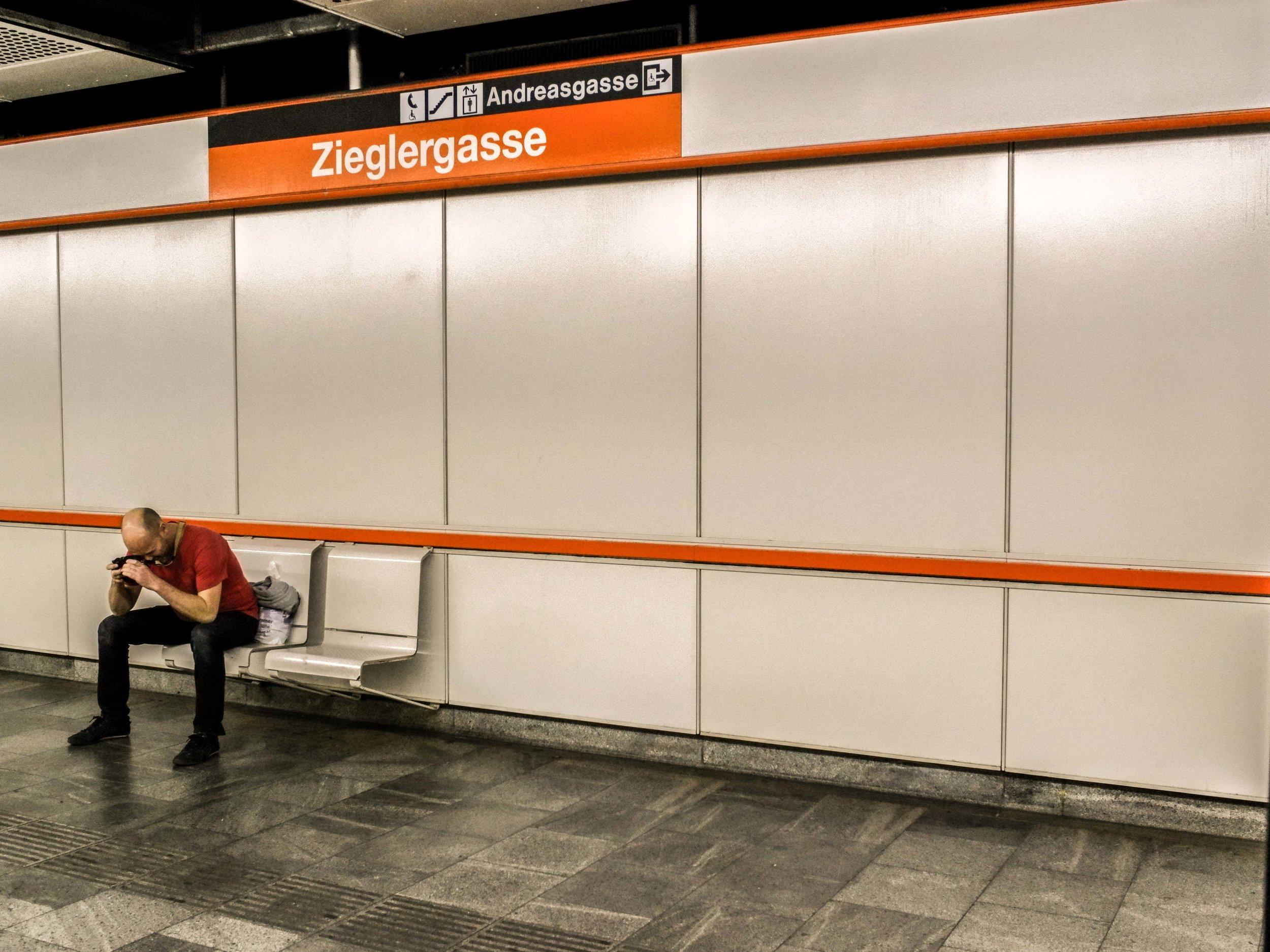 Vienna subway station