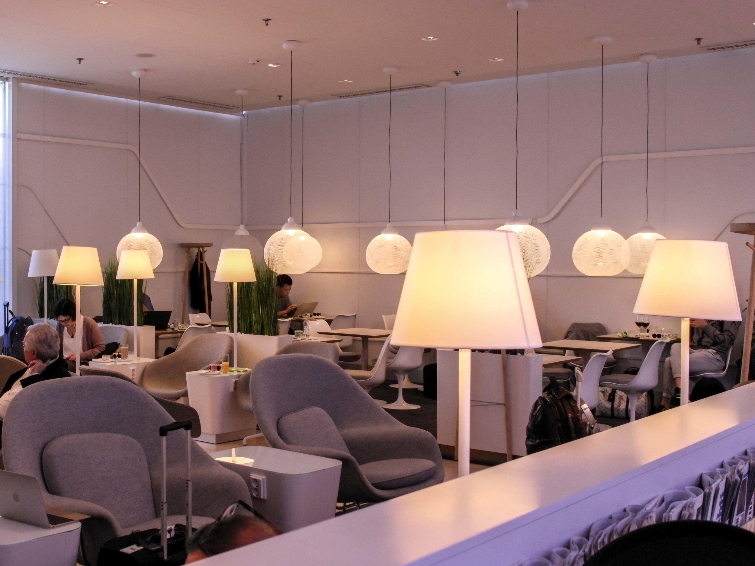 Finnair premium lounge
