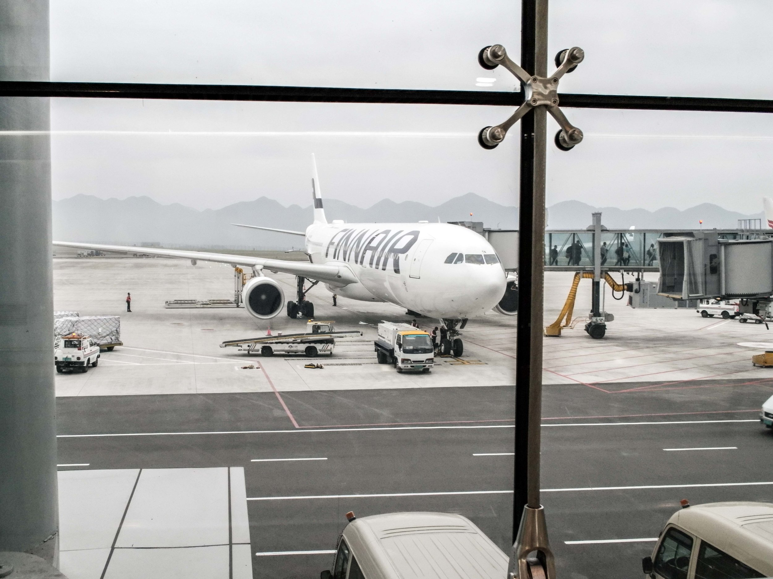2. review: Finnair A330 Economy Class Helsinki to Chongqing -