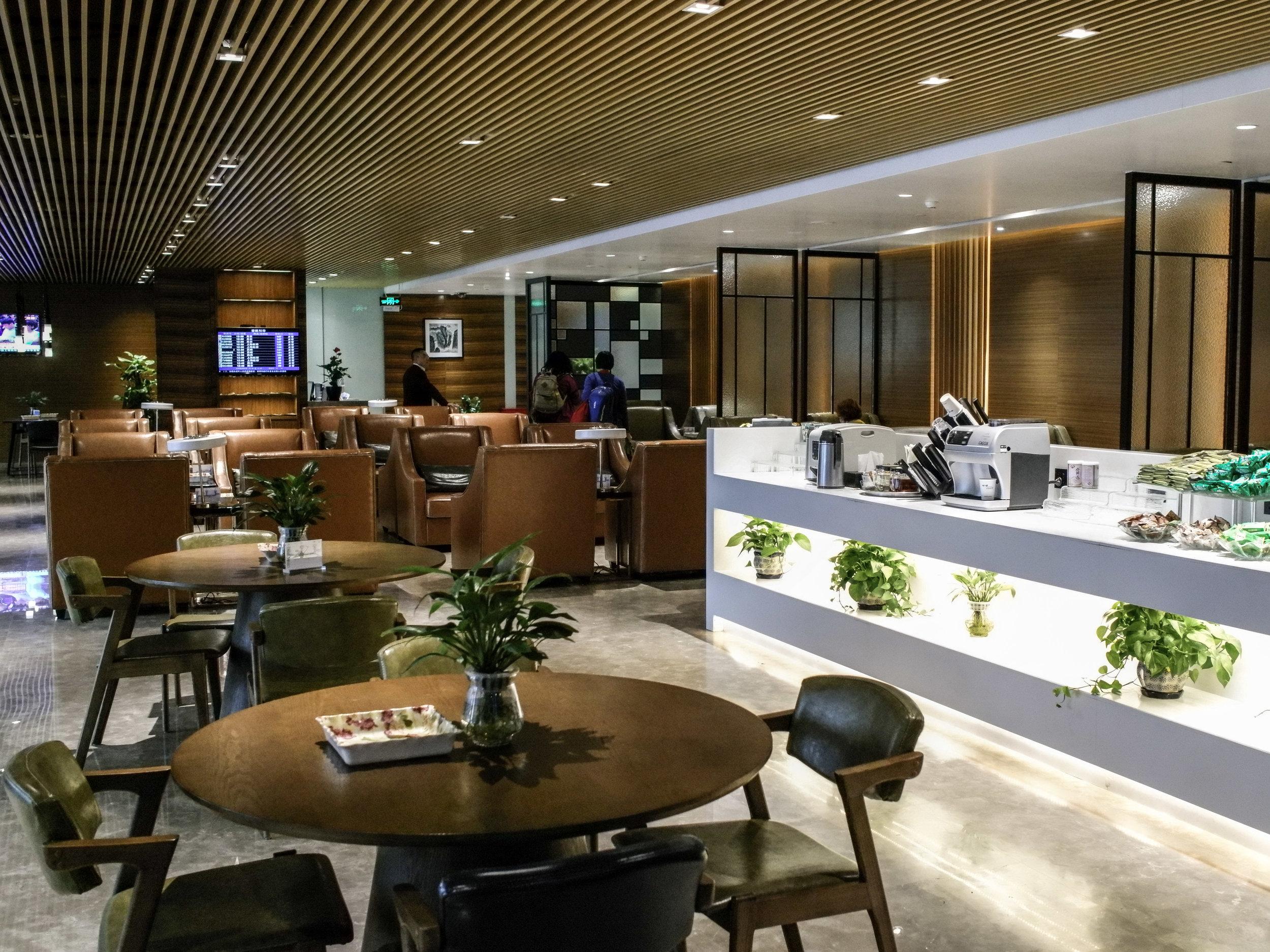 Chengdu airport terminal 1 - First Class Lounge
