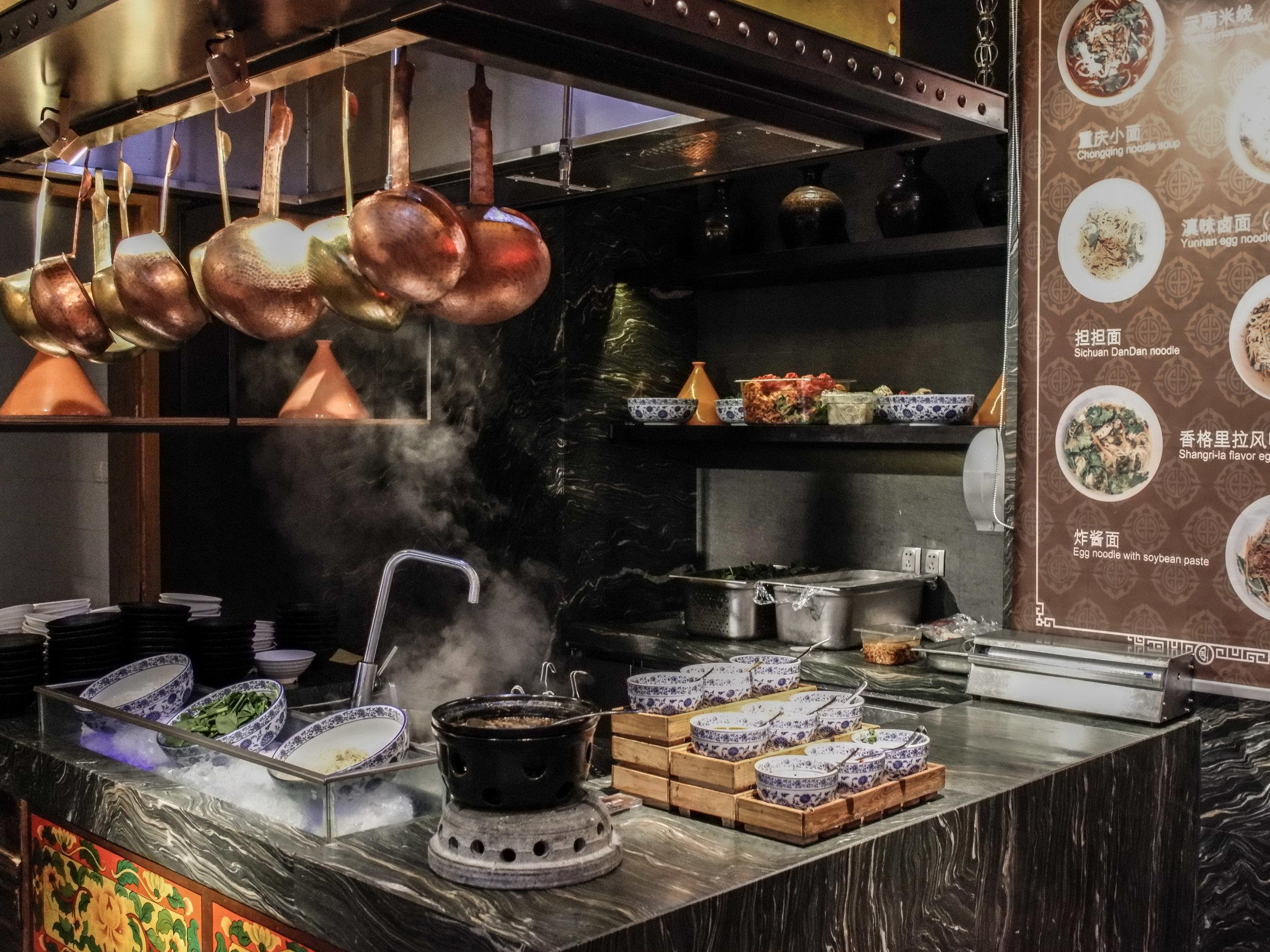Ani's Kitchen - noodles station