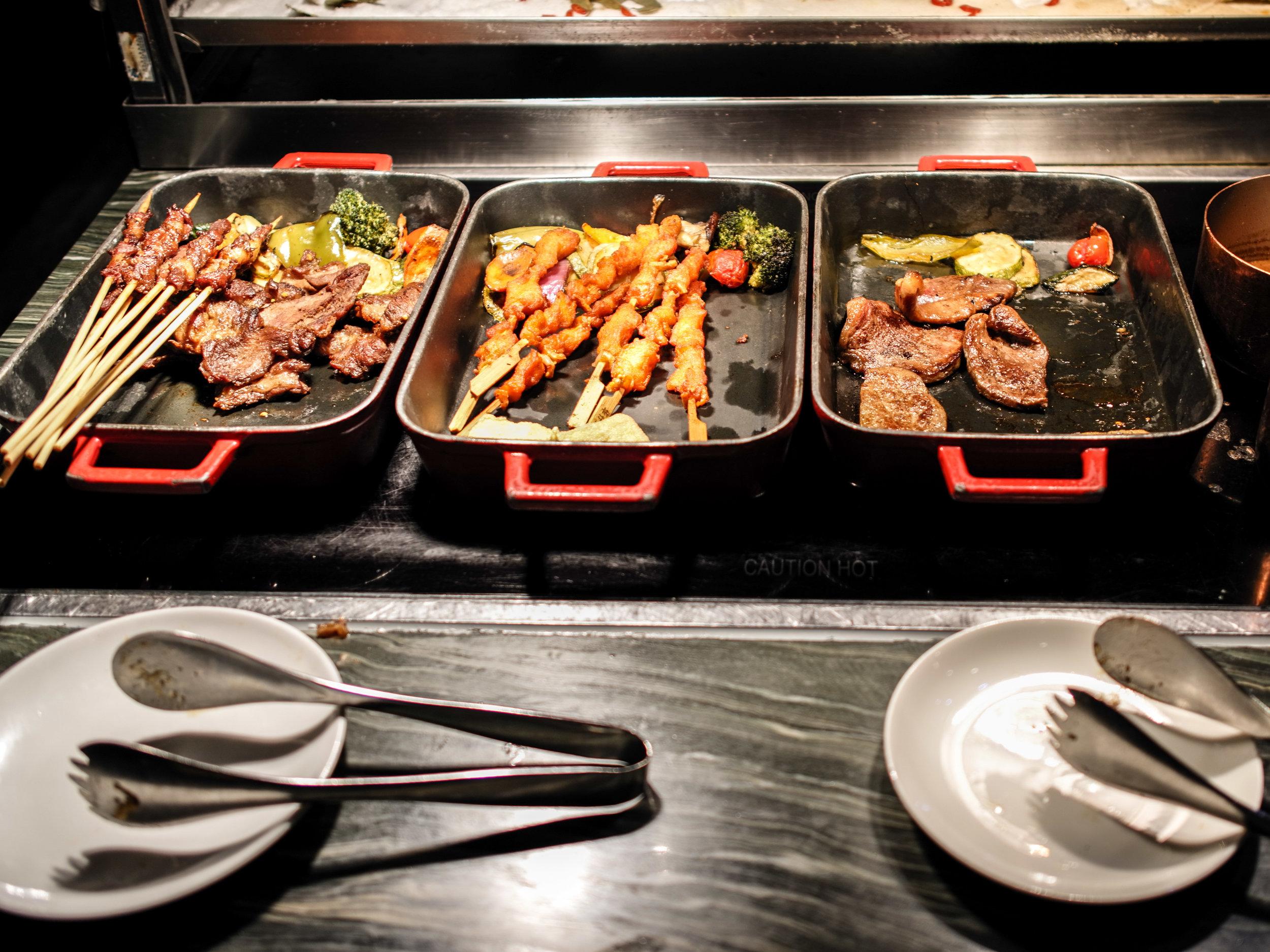 Ani's Kitchen - dinner buffet
