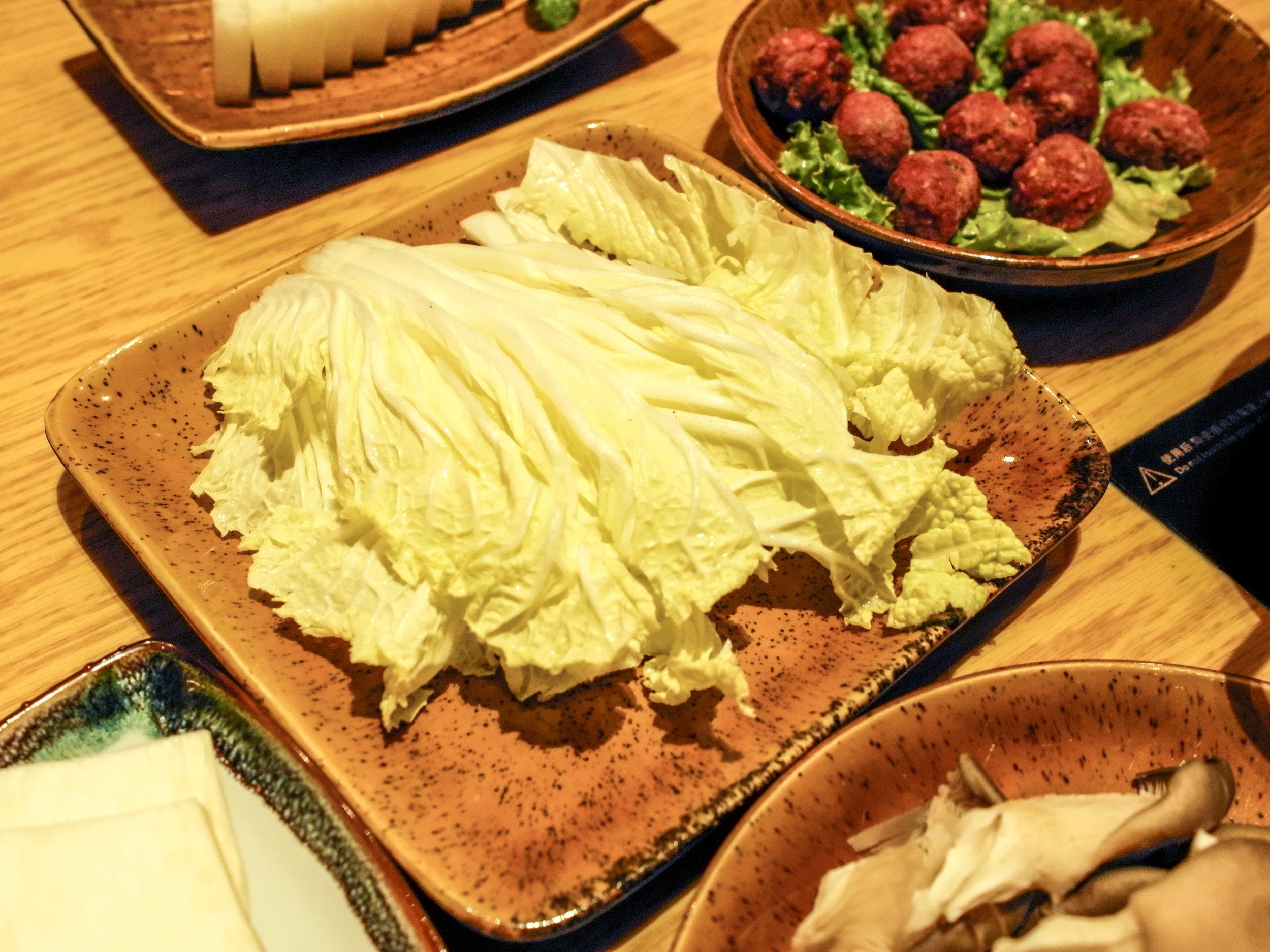 Hot Spot - napa cabbage