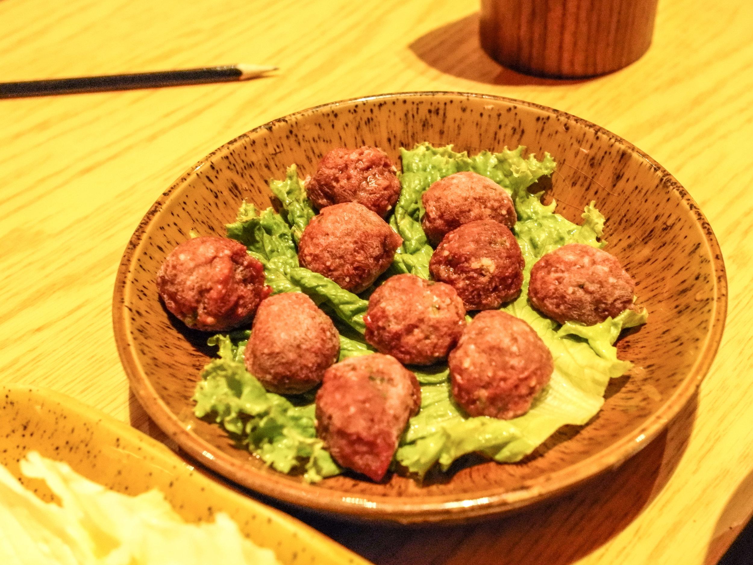 Hot Spot - meatballs