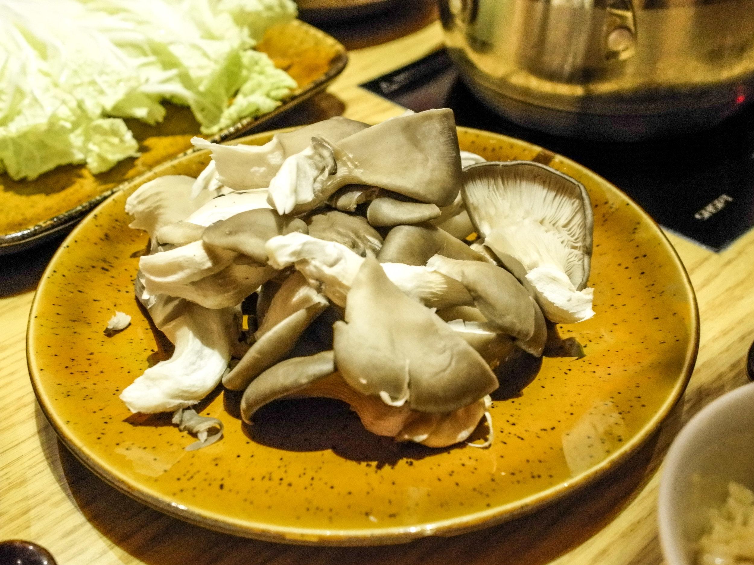 Hot Spot - oyster mushrooms