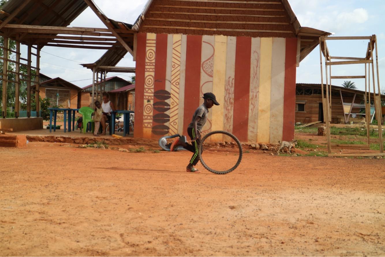 popular pasttime for village kids