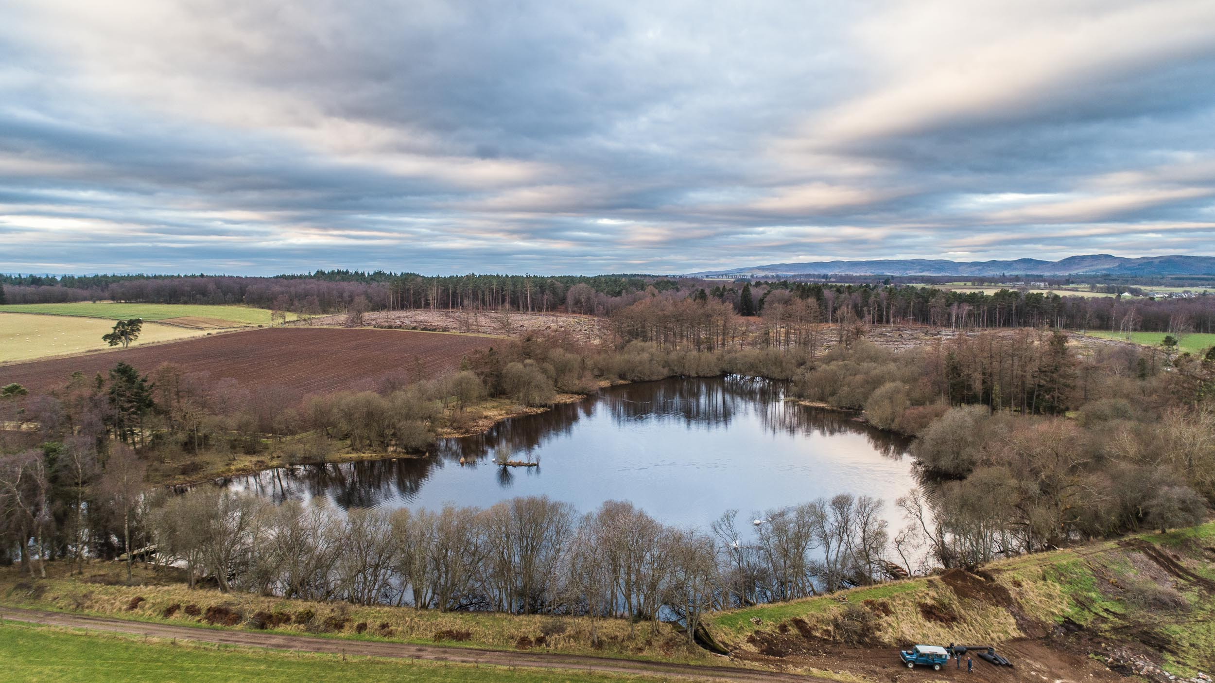Old England Loch in Perthshire
