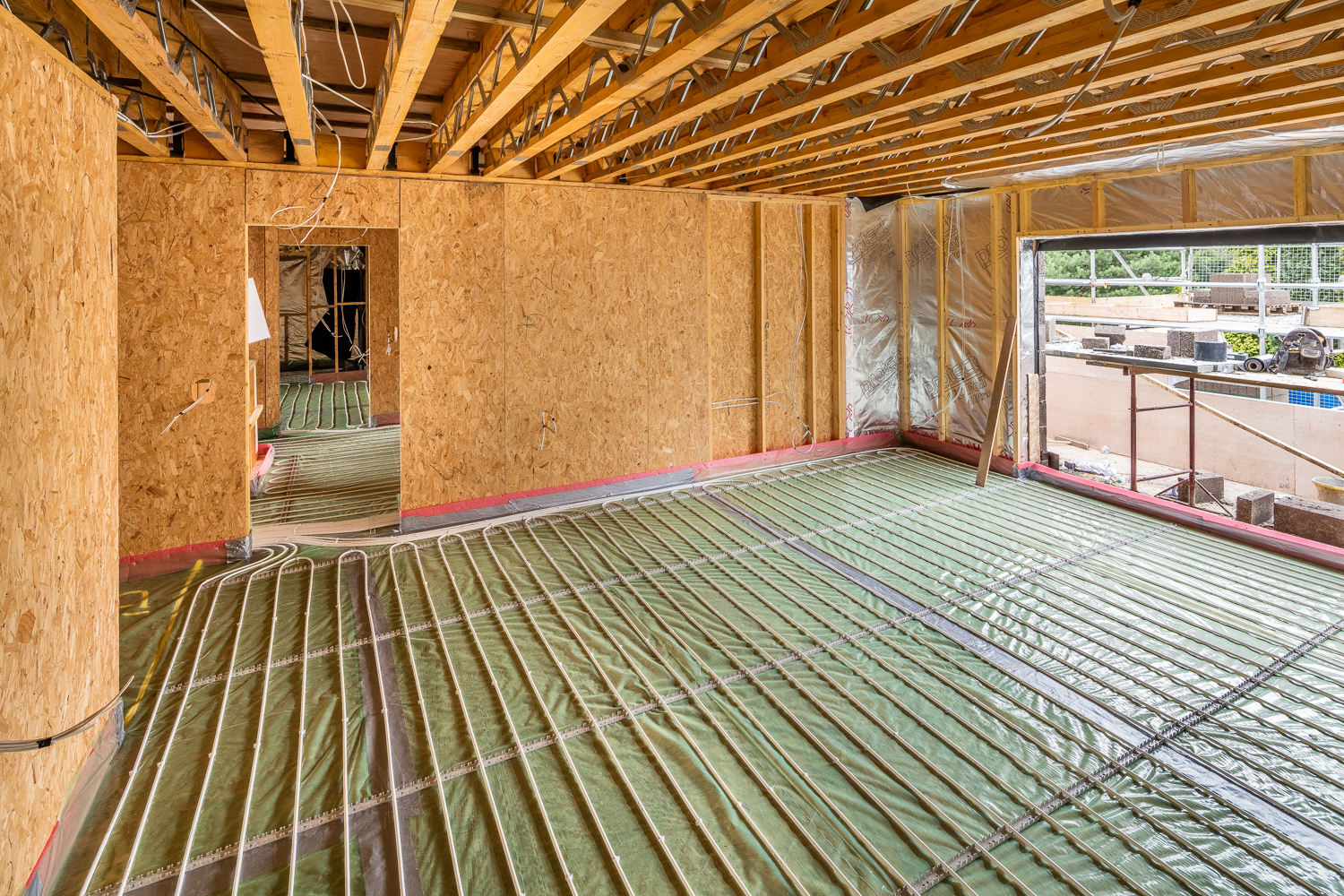 Can underfloor heating be installed into any floor construction?  - Incognito Heat Co provides systems to enable you to include underfloor heating into most floor constructions. The most common method is to include the pipework within the floor screed build-up in the initial stage. However we can also cater for joisted, structural, floating, and low profile systems.
