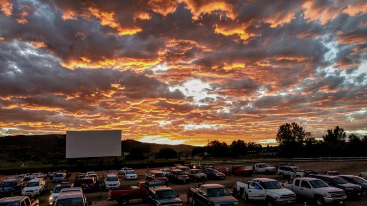 Photo courtesy of     Holiday Twin Drive-in