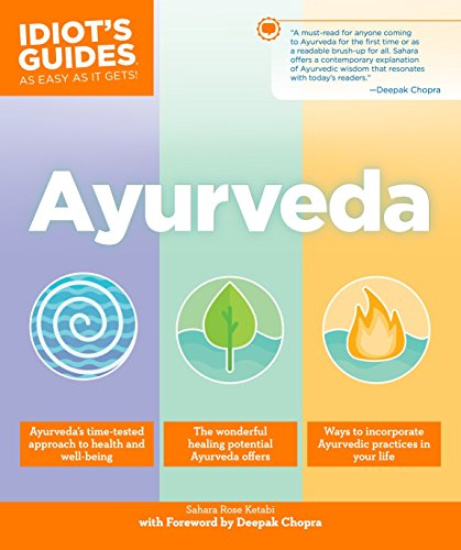 IDIOT'S GUIDE TO AYURVEDA