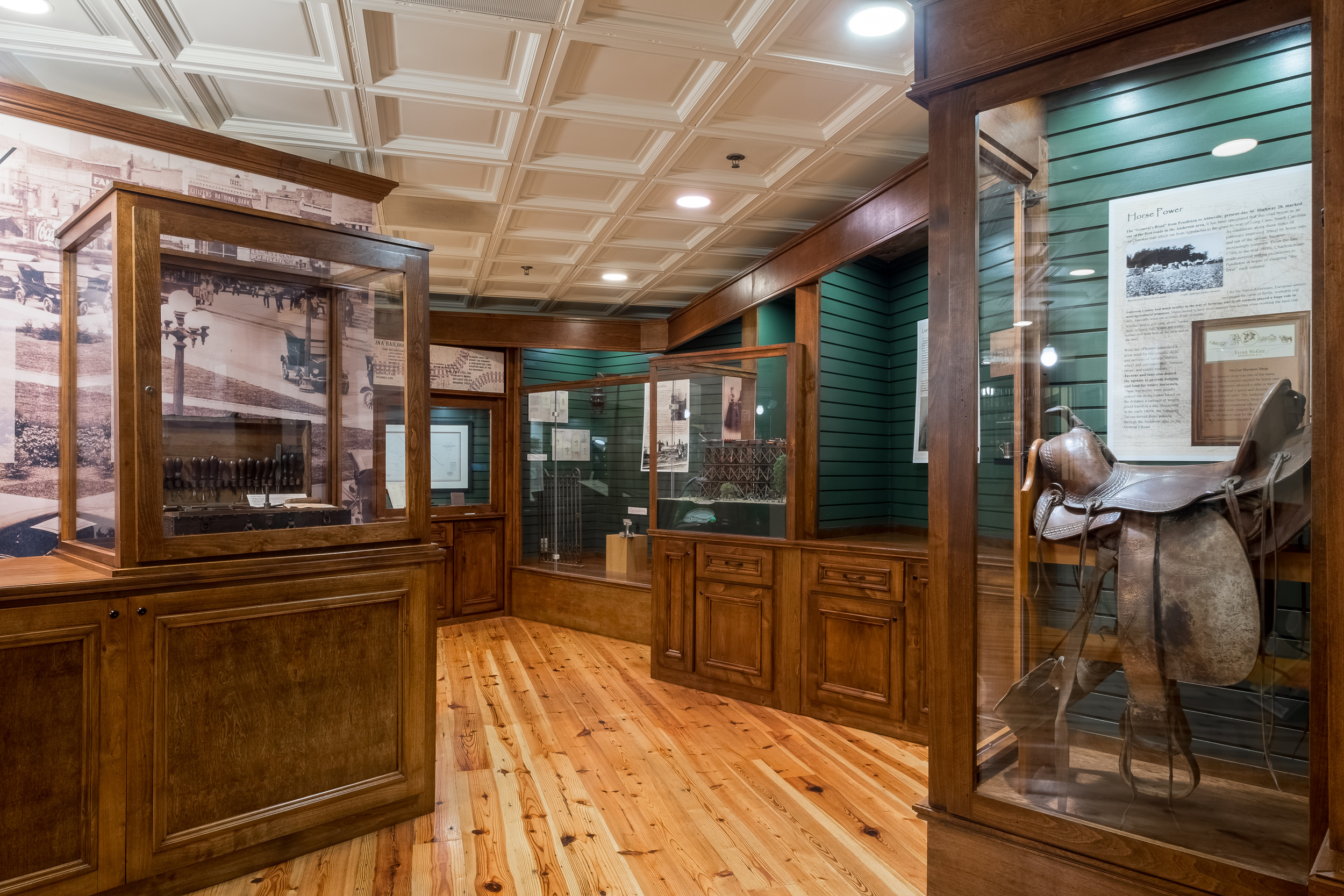 Routes of History Exhibit - Anderson County Museum