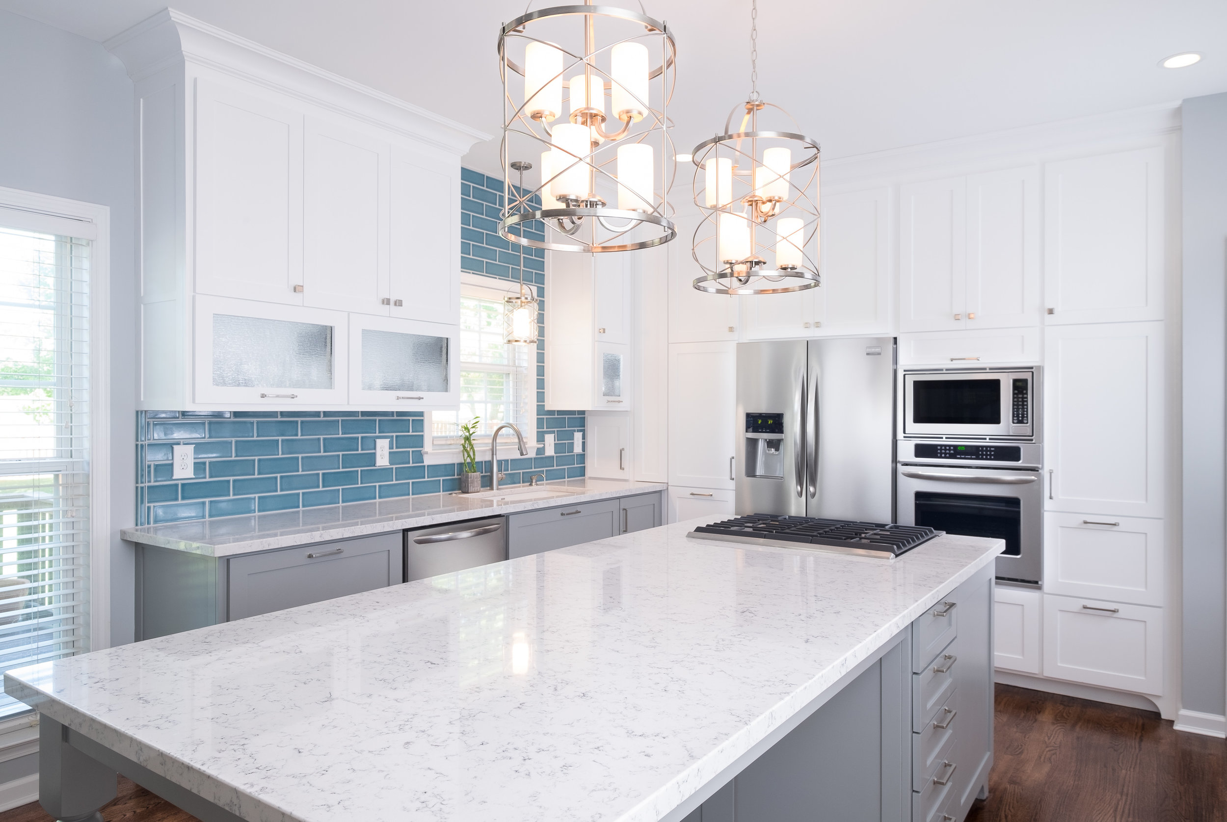 "Greenville Kitchen Remodel for Celebrity Designer Jennifer Farrell's Home Remodeling Show ""Get This Look"""