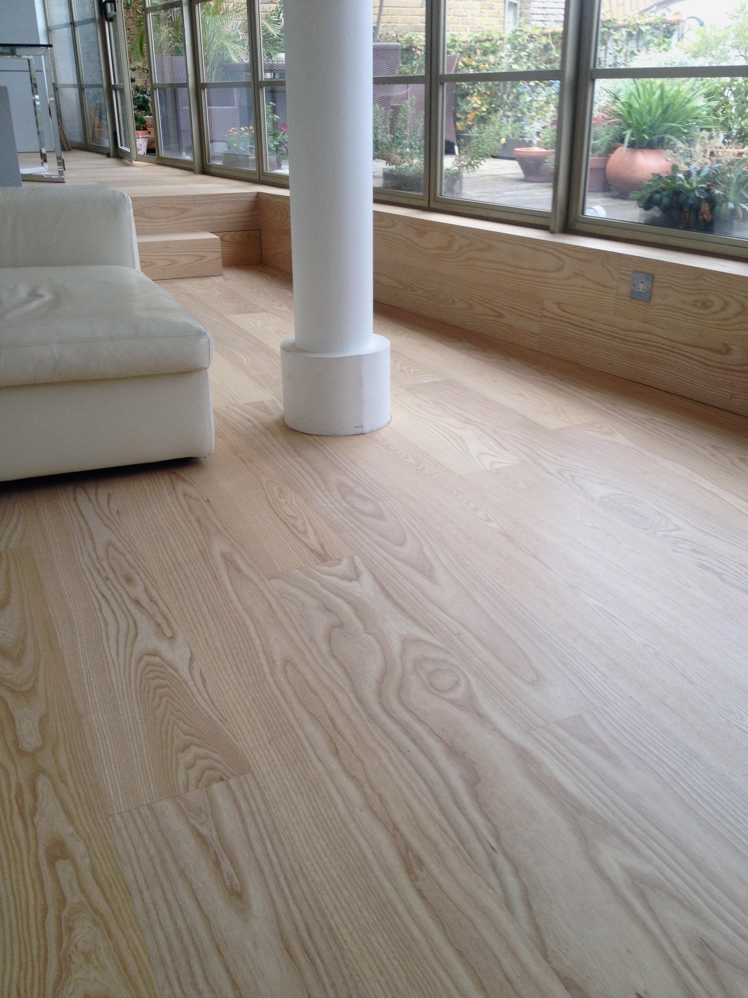 ash raw floor