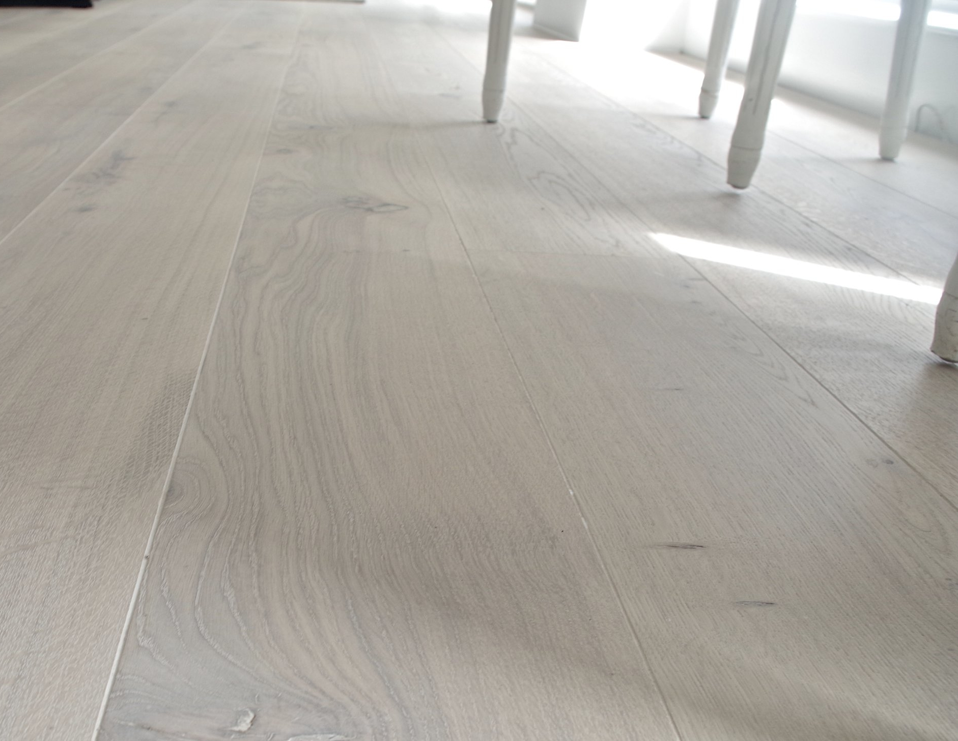 oak lye white oiled floor