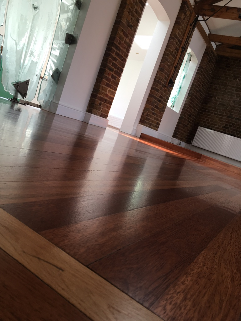 mahogany laquered floor london