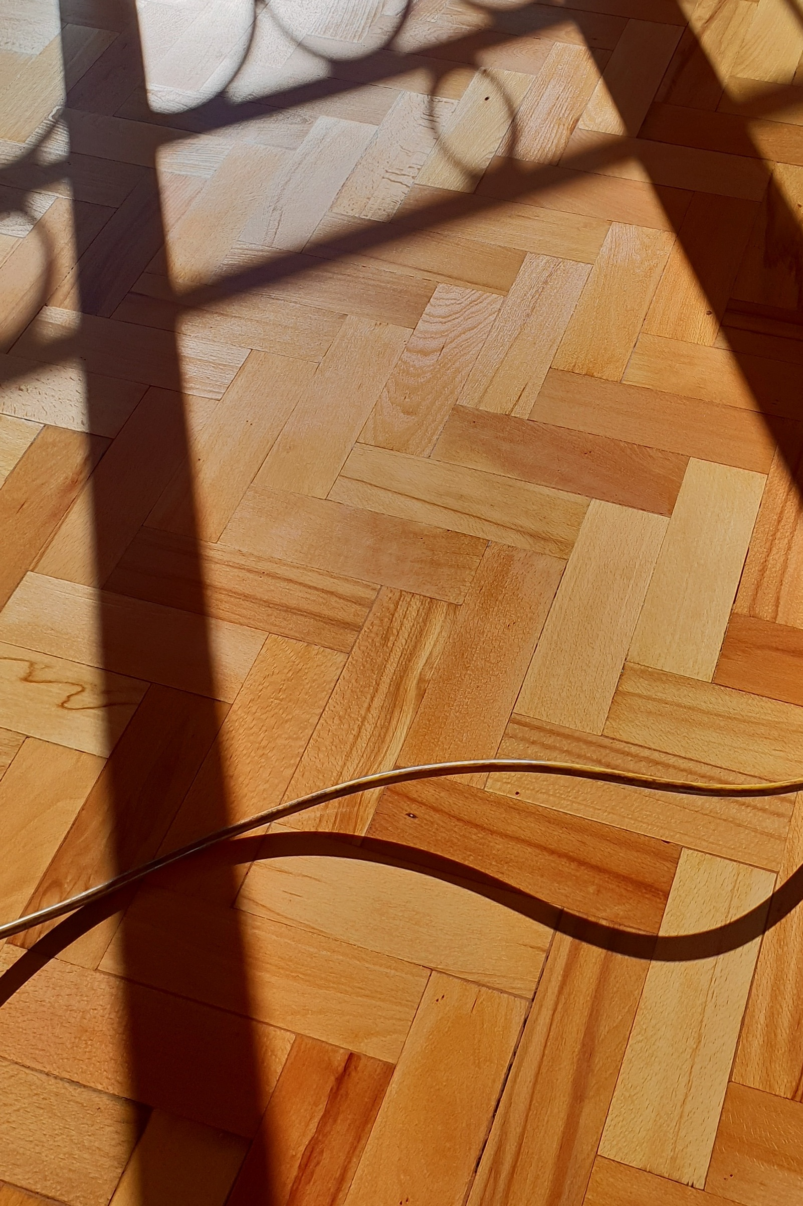 parquet oak shadows