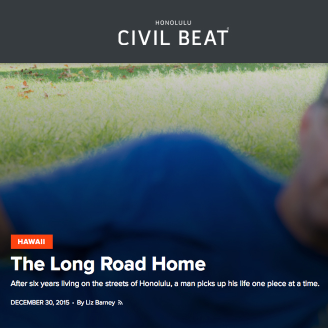 The Long Road Home- Documentary story & photos