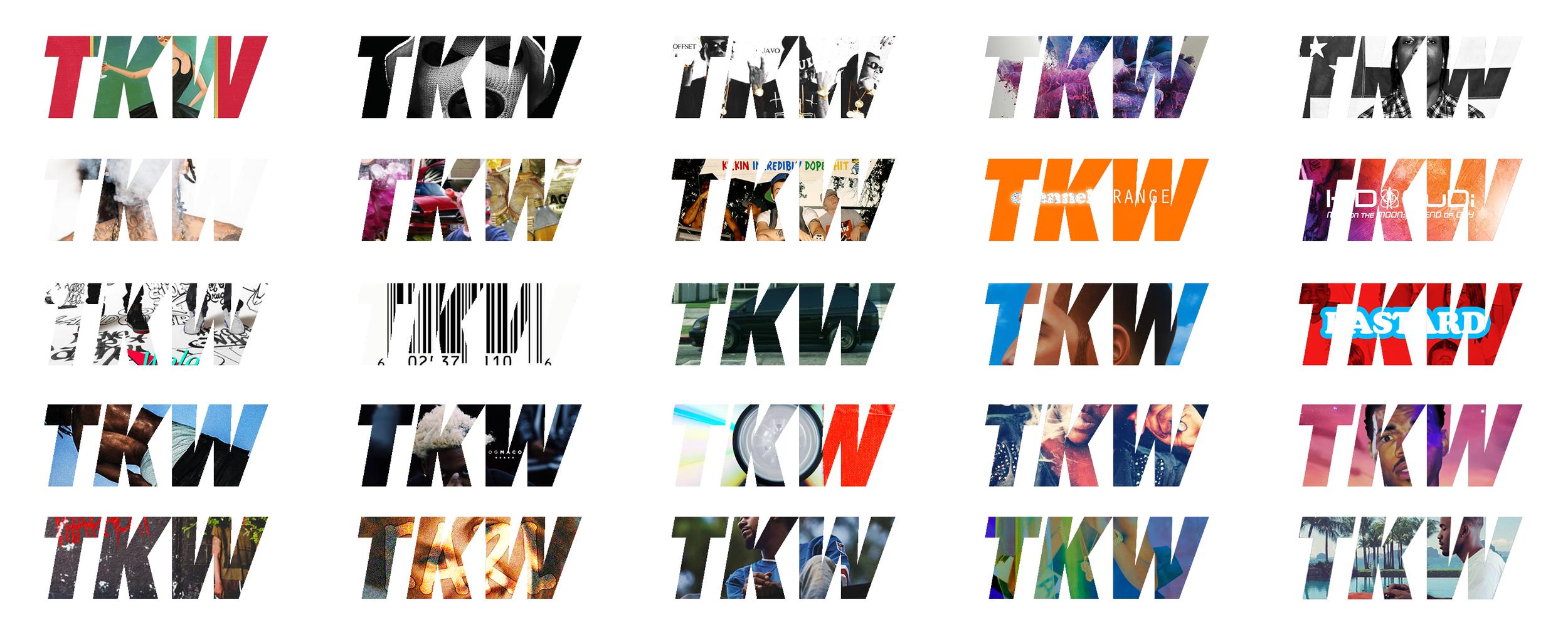 TKW LOGO AS ALBUMS