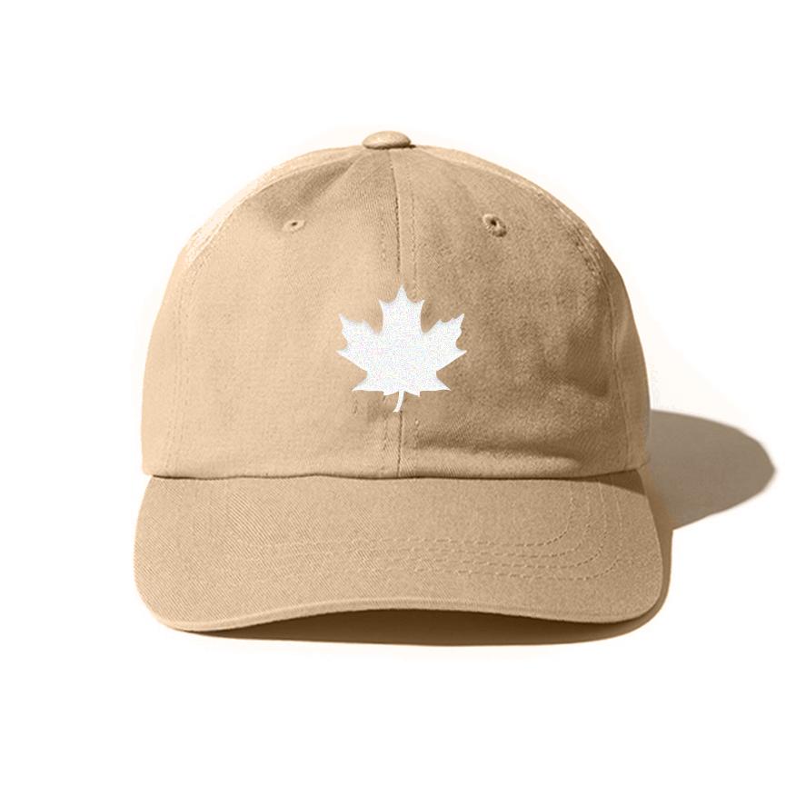 THE MAPLE LEAF CAP (SAND)