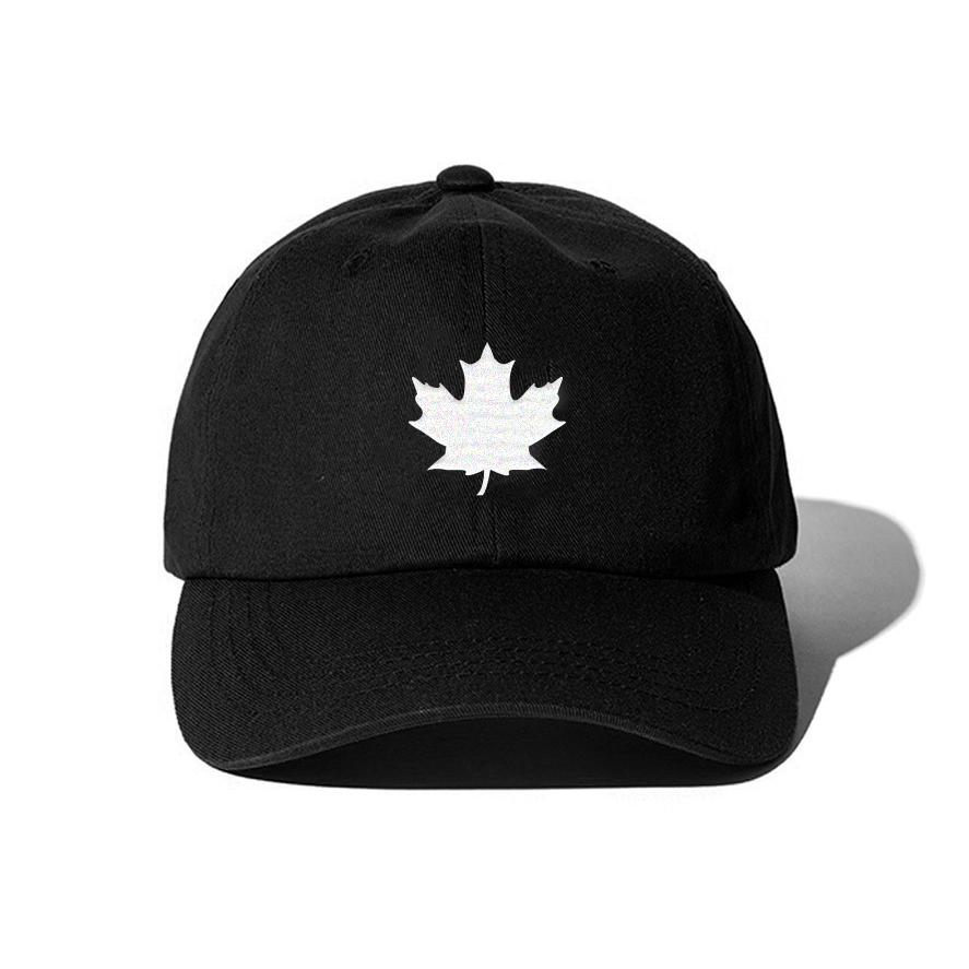 THE MAPLE LEAF CAP (BLACK)