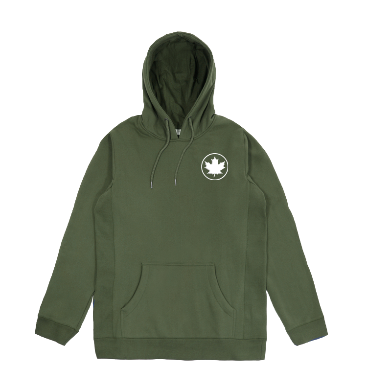 THE MAPLE LEAF HOODIE (FOREST)