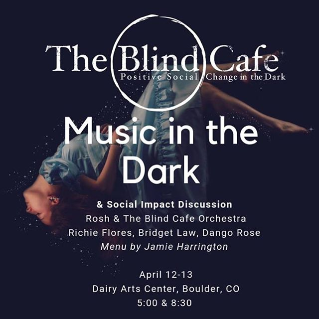 Love this experience.•* #bouldercolorado #boulderlifestyle #activelistening #theblindcafe #dairycenterforthearts #light #dark