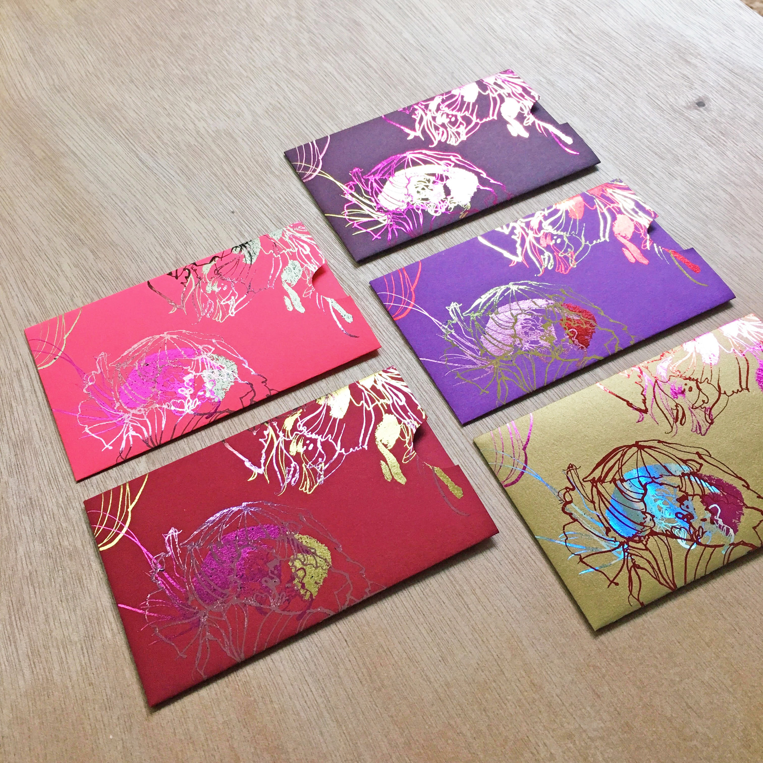 Chinese Red Envelopes • 紅包