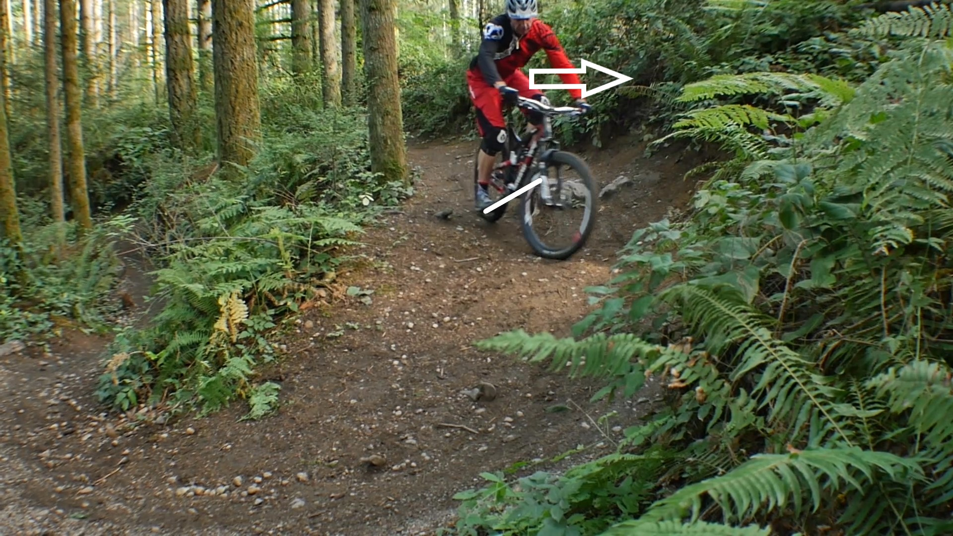 how-to-ride-switchback-turns-mountain-bike