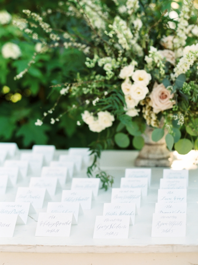 Escort Cards :: Tented Paper