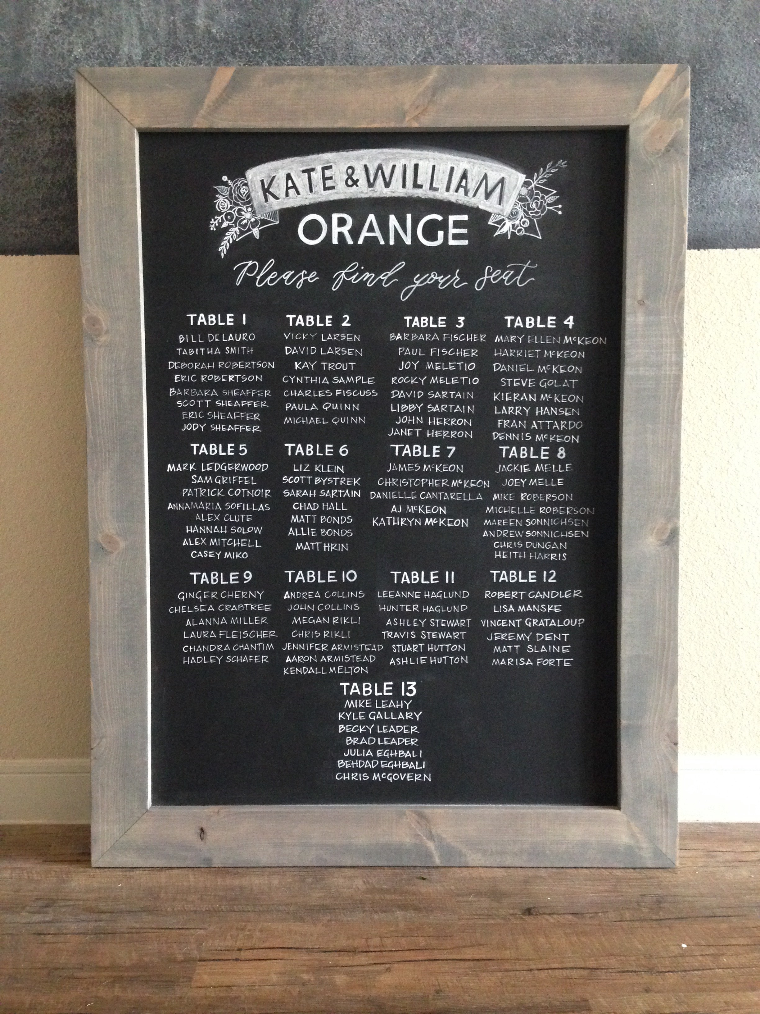 Chalkboard :: Rental Item