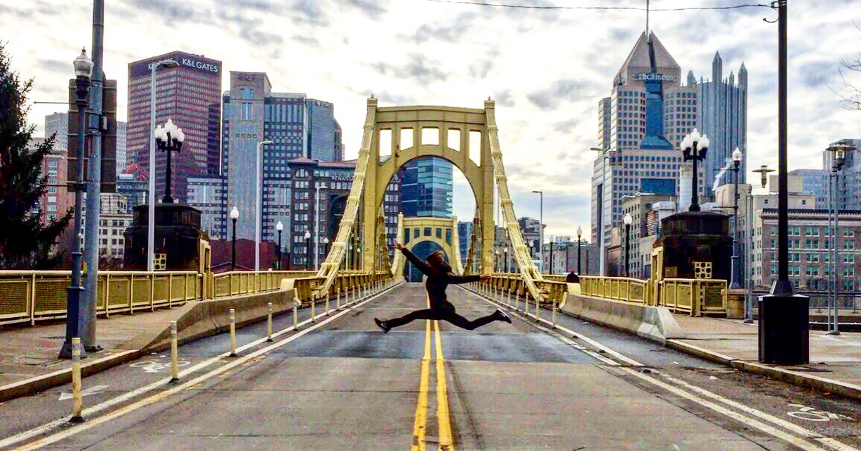 Location: Roberto Clemente Bridge, Pittsburgh, PA / Photo by Jimmy Wayne