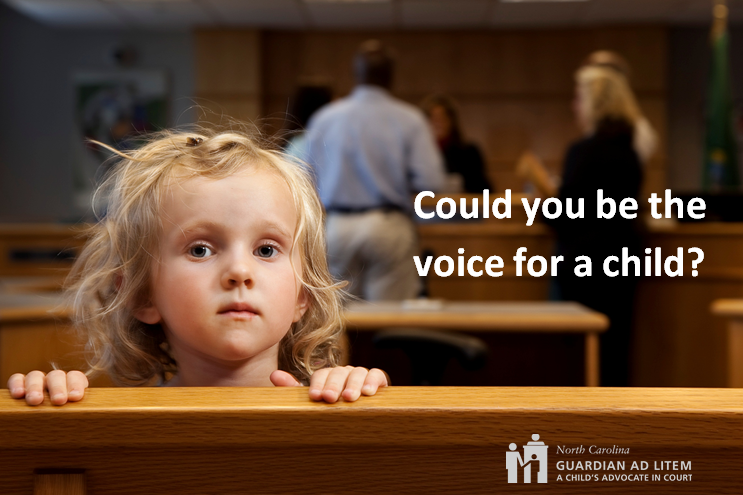 Click the photo to learn more about volunteering as a Guardian ad Litem.
