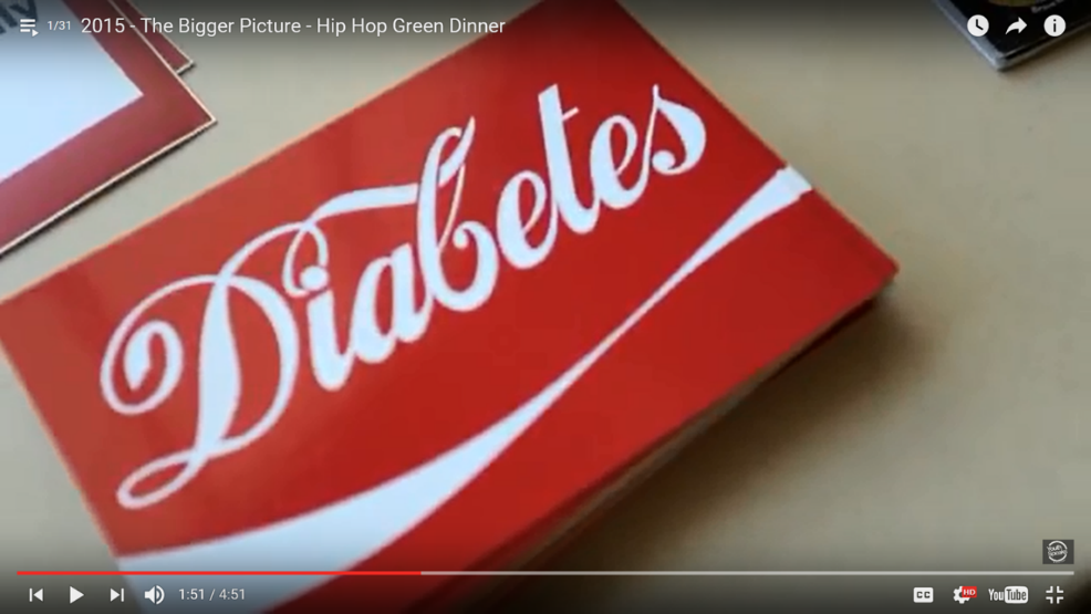The Bigger Picture uses hip hop music to educate young African American and Latino people about diabetes.  Credit