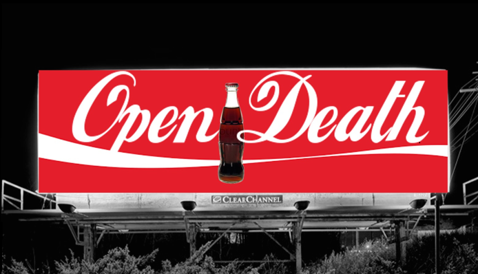 Image developed by Youth Food Educators students targeting Coca-Cola.