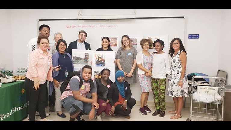 Figure 7. Hostos Food Security Advocates and guests who attended the May 2nd event.