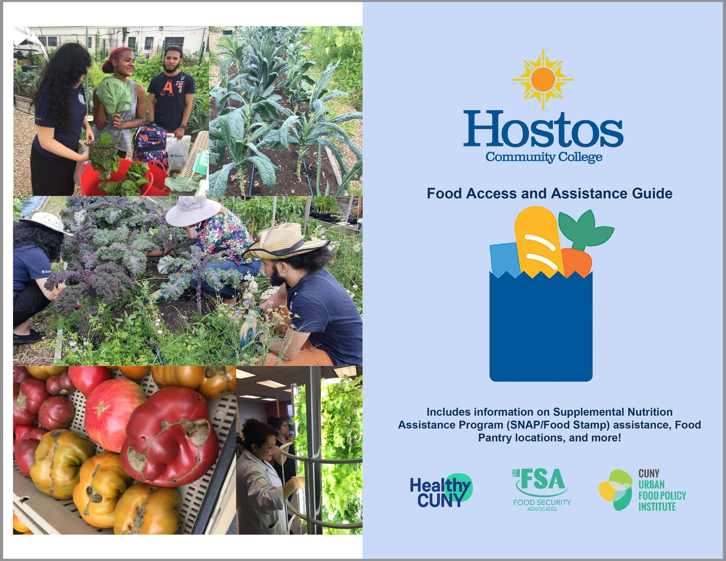 2018 Hostos Community College Food Access & Assistance Guide