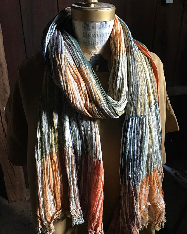 Fall hues in shop #scarves #Fall #wovensilk