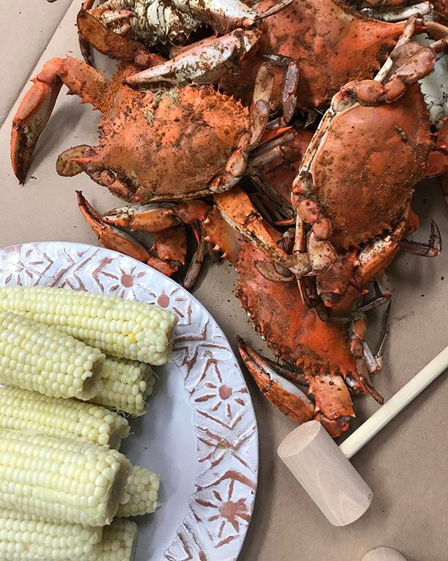 Today's catch... # Chestertown #crabfeast #Easternshore