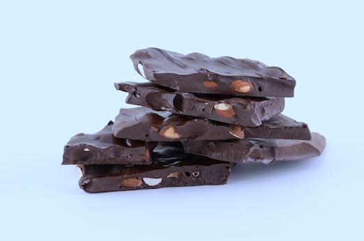 DARK CHOCOLATE-ORANGE ALMOND BARK