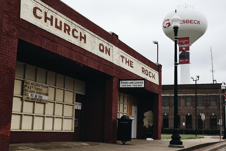Downtown Groesbeck, Texas