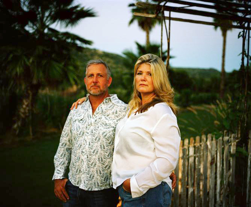 Flora Farm founders, Patrick and Gloria Greene Photo by  Adam Golfer