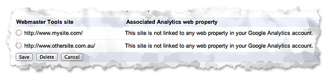 select-webmaster-tools-site