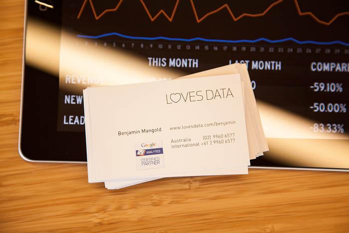 personal measurement card